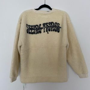 NEW Off-White Long Sleeve Crewneck